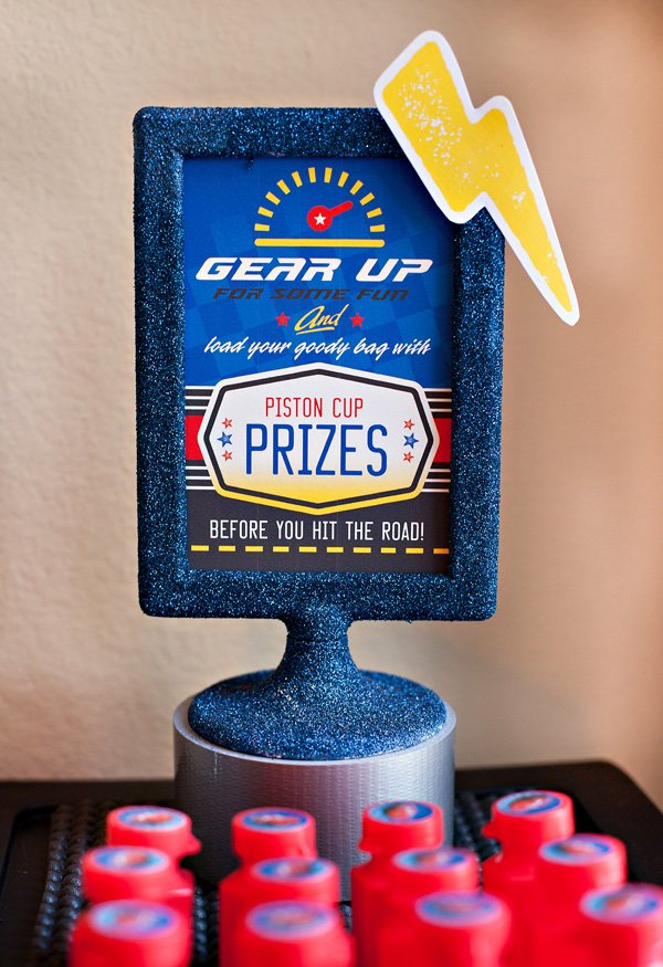 gear up for free printables and prizes at a kids cars party