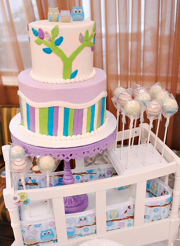 Owl Inspired Dessert Table Baby Shower Event Hostess