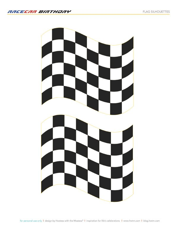 image relating to Checkered Flag Printable identified as Totally free Printables: Disney Pixar Cars and trucks Birthday Occasion // Hostess