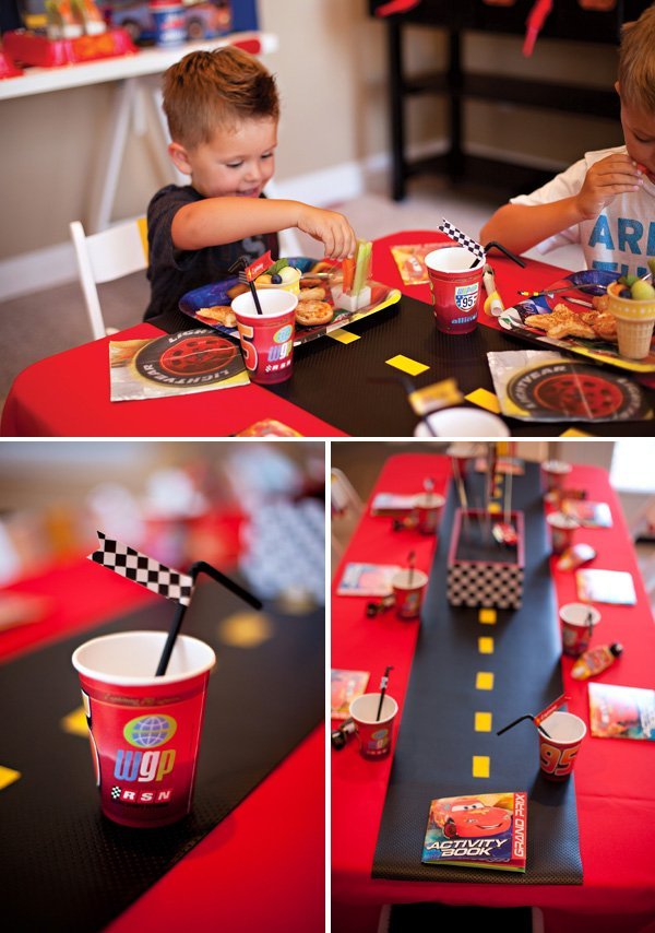 race car kids table