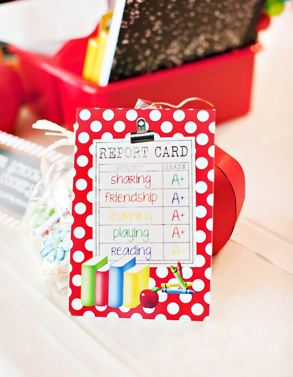 report card printables
