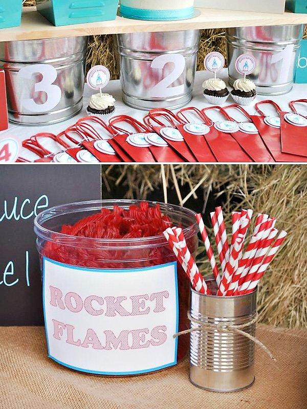 rocket flames