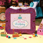 Royal Birthday Ball Party Sign