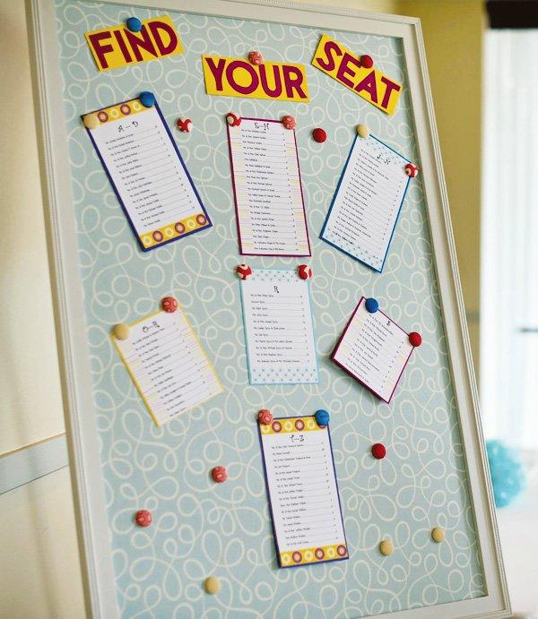 seating board