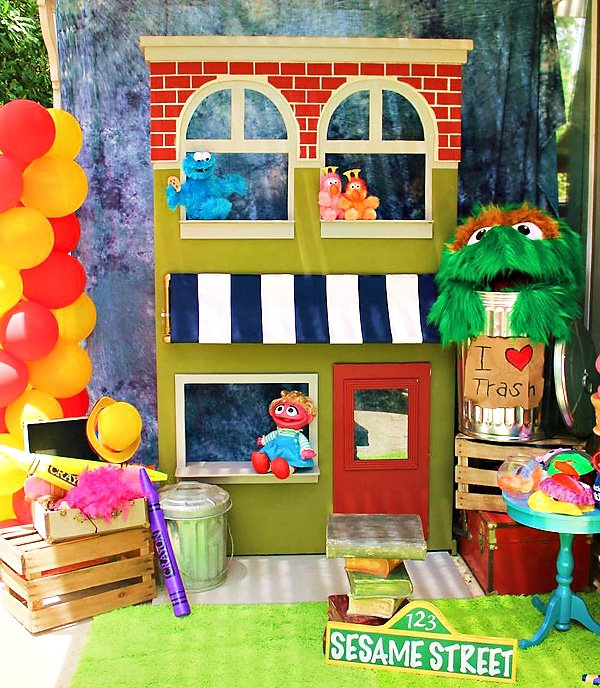 Sesame Street Photo Booth