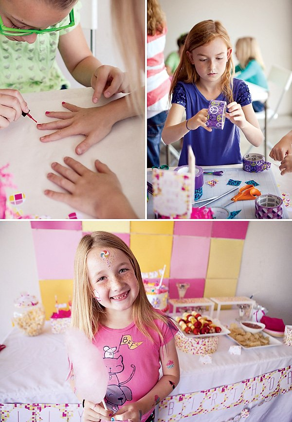 Nail Painting and Craft Activities