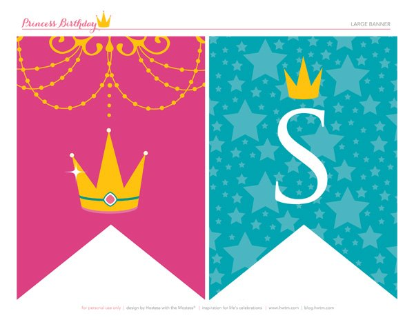 FREE Printables Sparkly Disney Princess Birthday Party Hostess With The Mostess