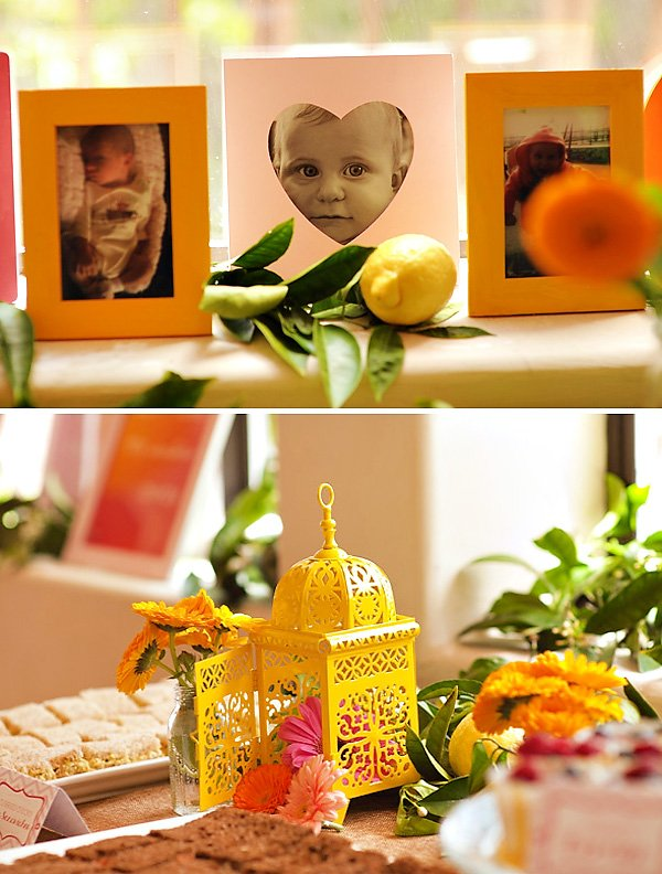 sunshine themed first birthday party