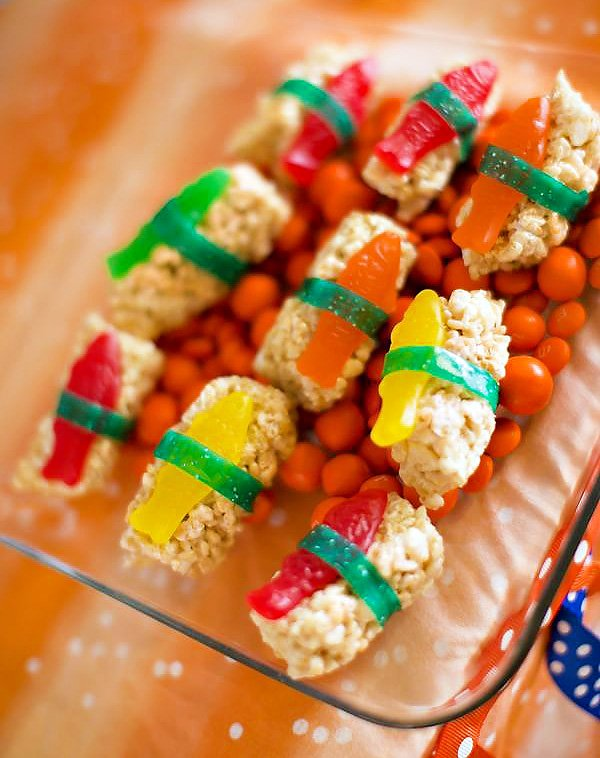 Candy Sushi Rolls