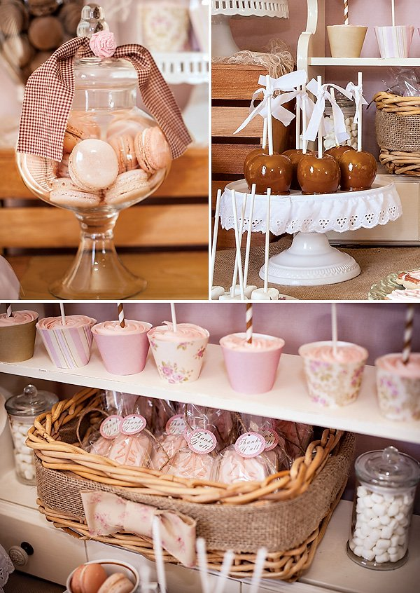 vintage pink party