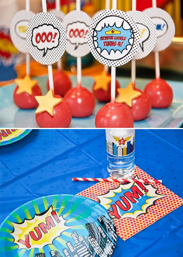 wonder woman theme party