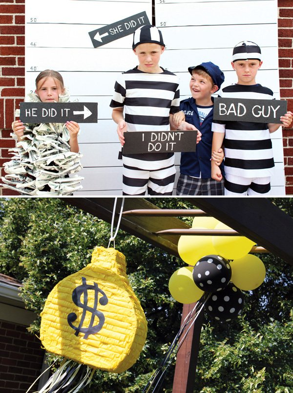 Cops and Robbers Party Ideas