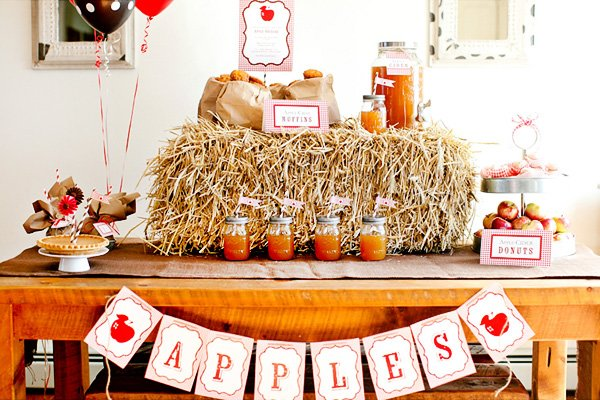 fall apple picking party ideas