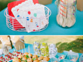 Colorful Backyard Birthday