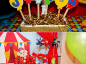 balloon cookies for a carnival circus party