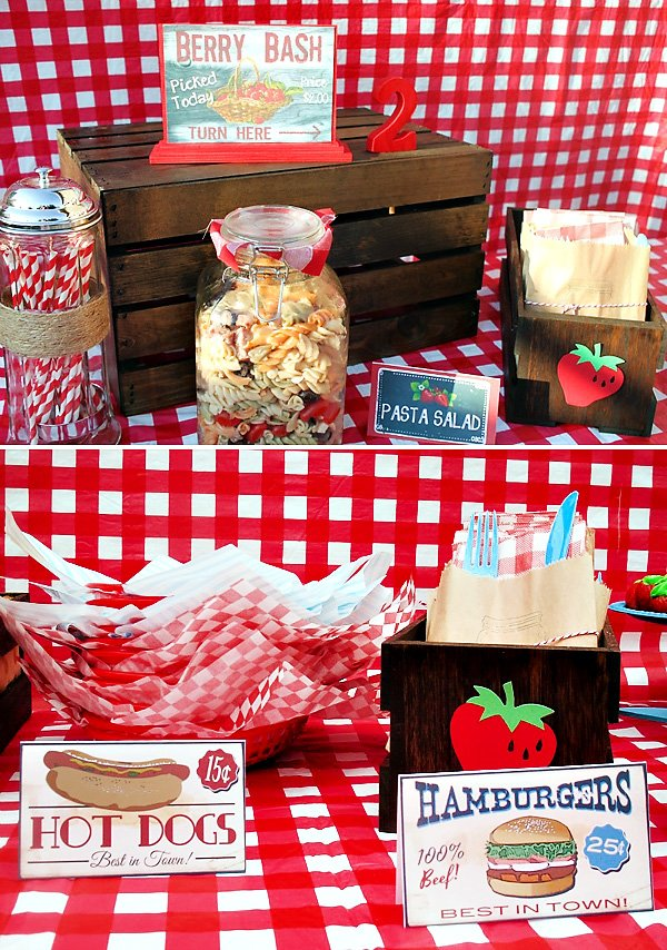 Red Gingham BBQ