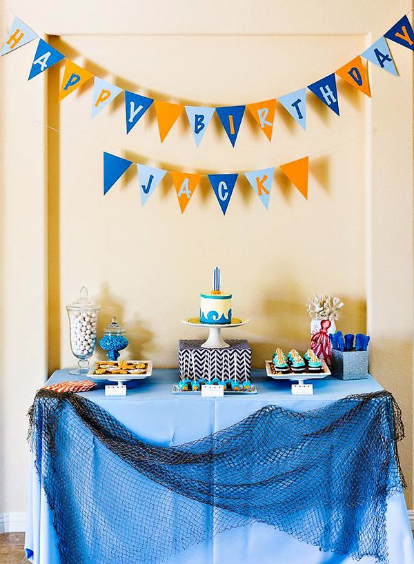 Totally Cool Nails Book Review: Totally Cool Backyard Beach Bash {First Birthday