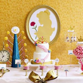 beauty-and-the-beast-dessert-table