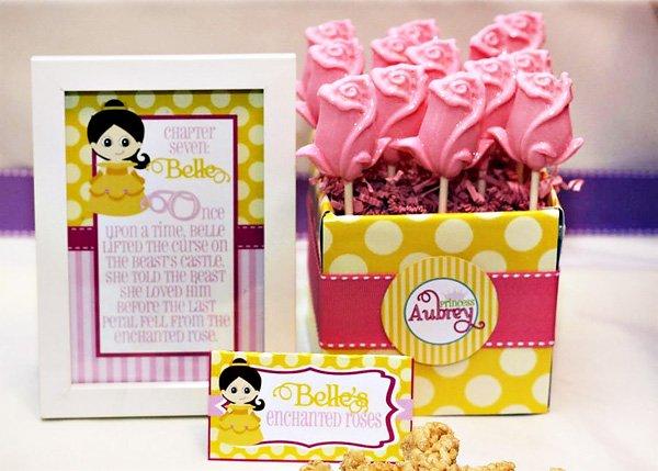 belle inspired desserts