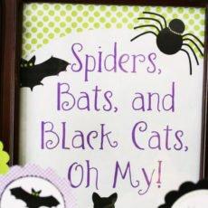 black cat printables