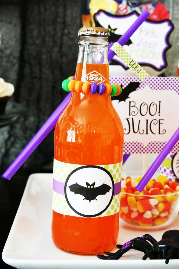 boo juice and more halloween party ideas
