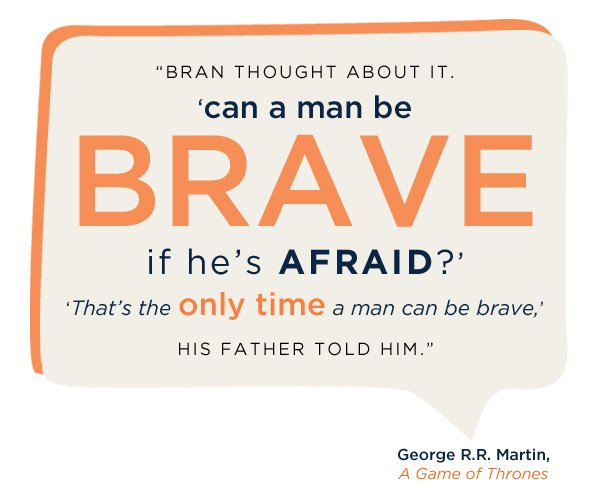 Game of Thrones Bravery Quote