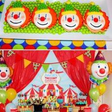 carnival dessert table