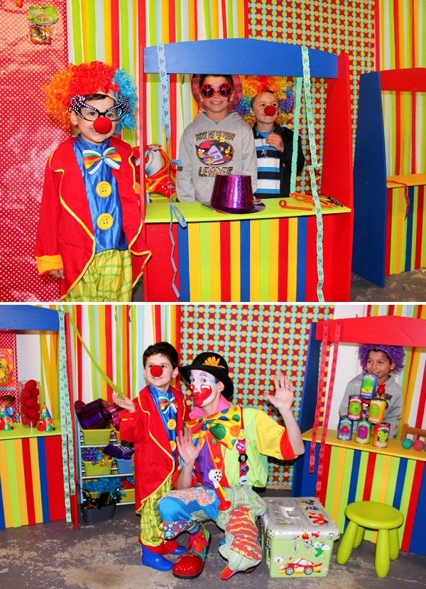 clown outfits for a carnival party