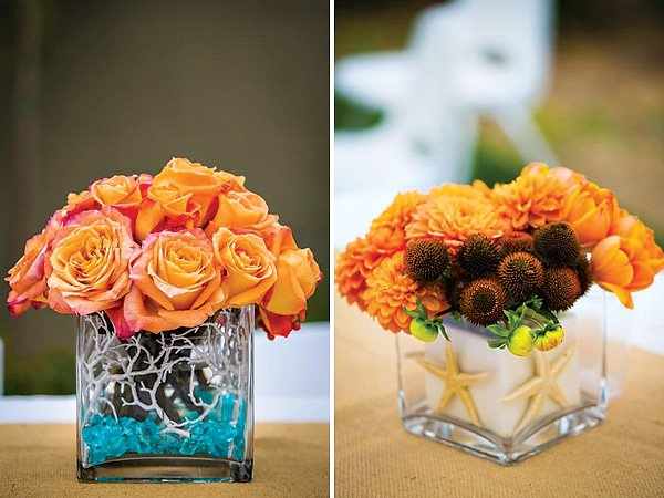 coastal centerpiece ideas