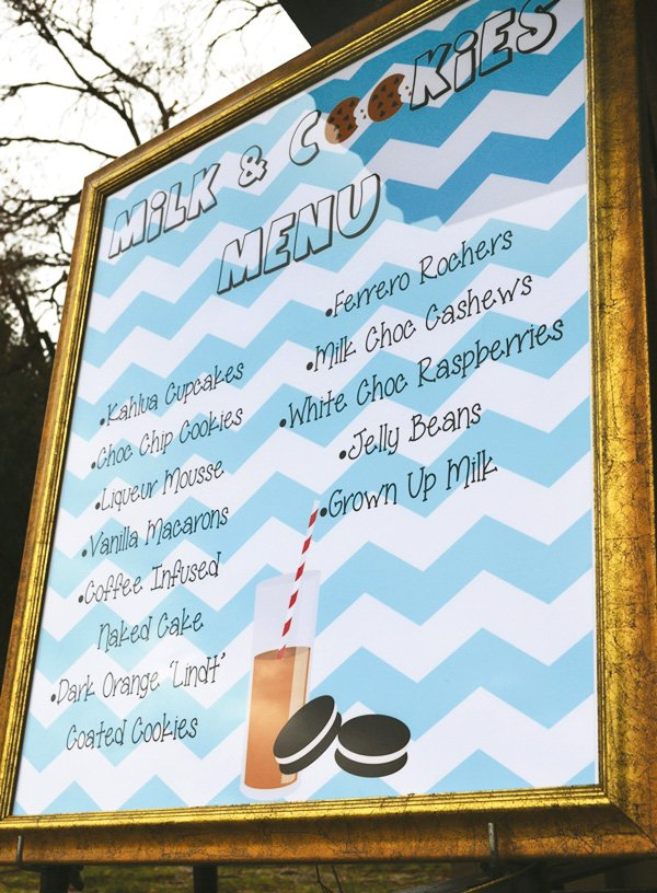 chevron adult milk menu