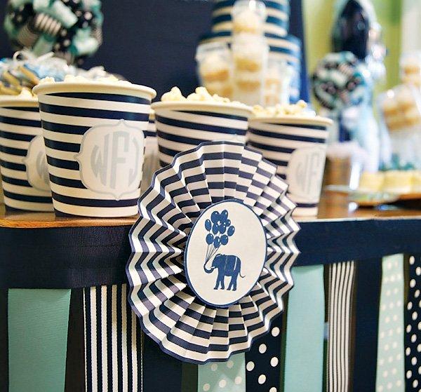 elephant paper rosettes