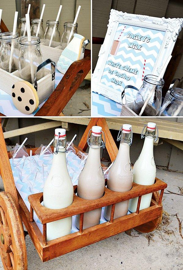 flavored milk