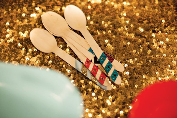 Decorated Wooden Spoons