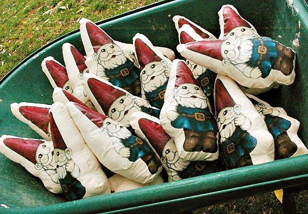 Garden Gnome Pillow Party Favors