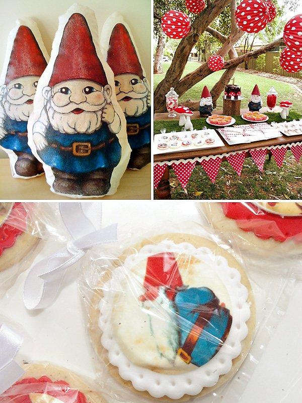 Gnome Theme Birthday Party