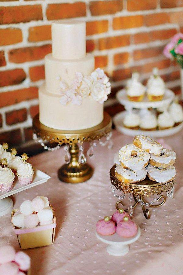 gold gem desserts