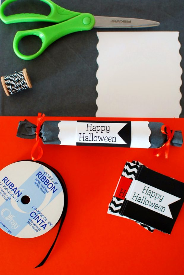 diy tutorial halloween crackers