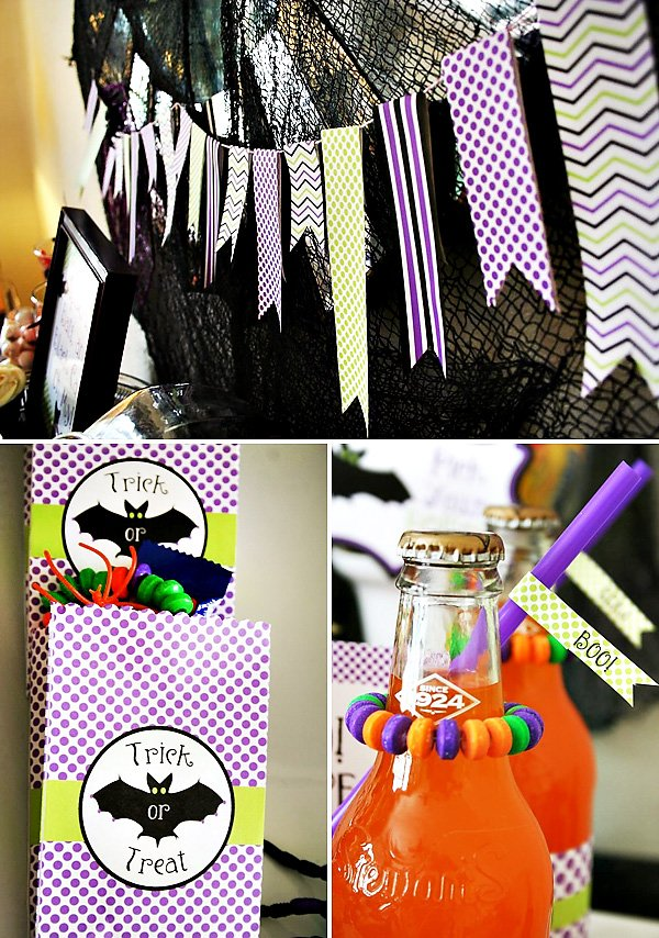 purple and green free halloween printables