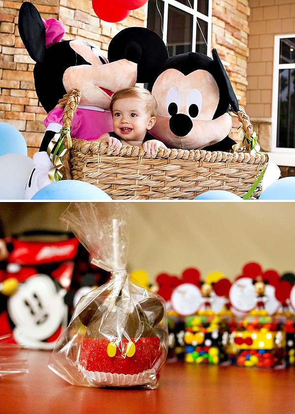 micky mouse first birthday party
