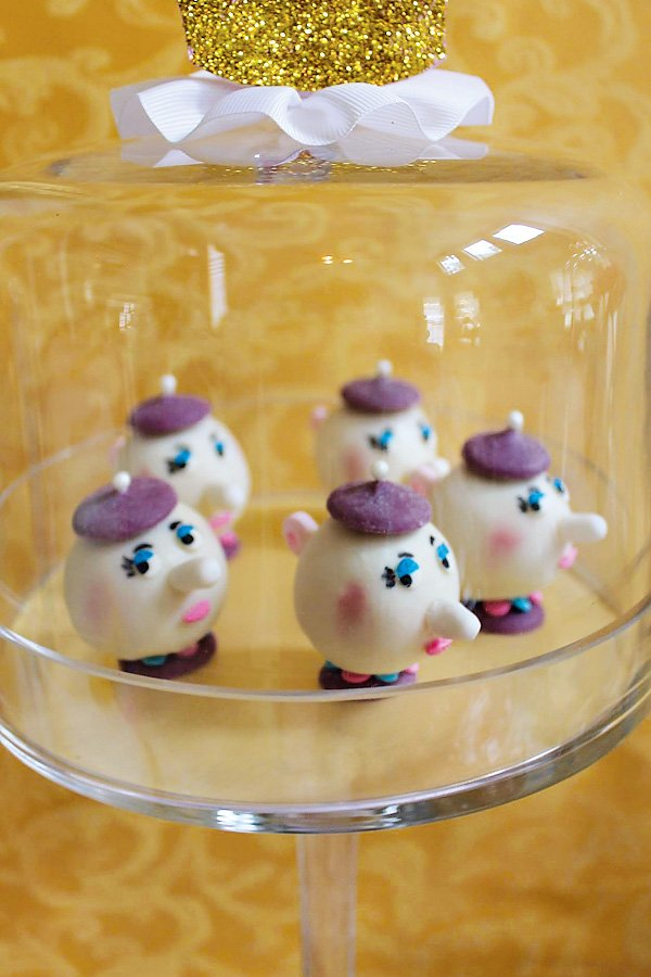 mrs potts cake pops