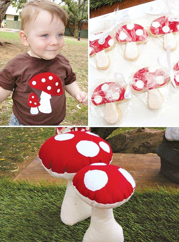 Toadstool Mushroom Party Ideas