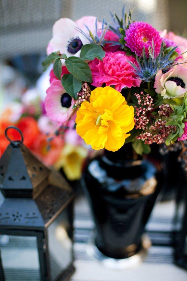 Neon Floral Arrangement Ideas