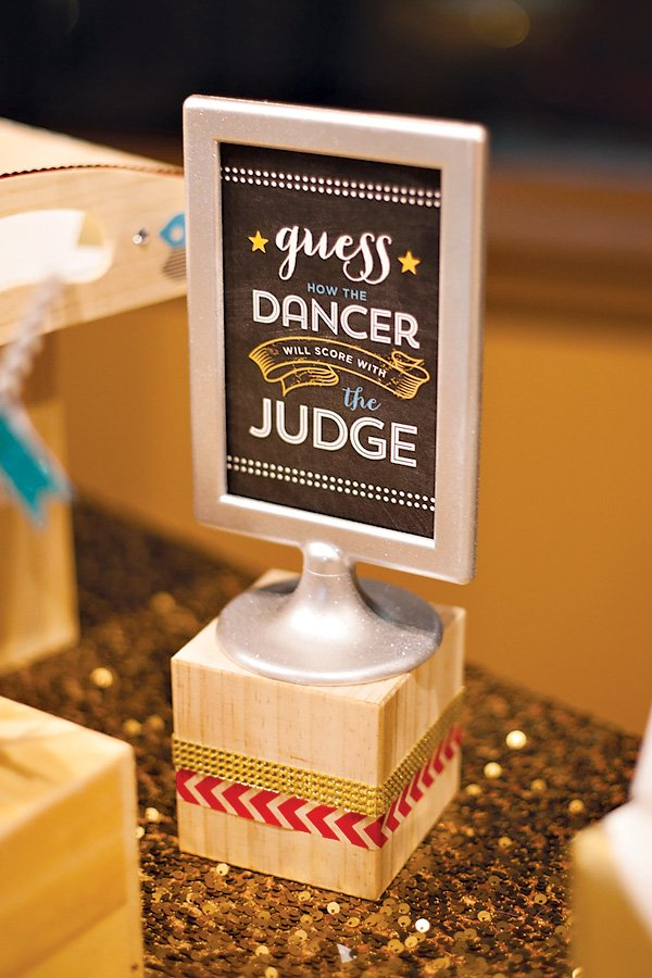 Dancing with the Stars Party Sign