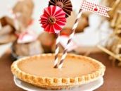 cute pie topper idea
