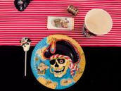 pirate plate for a kids pirate party