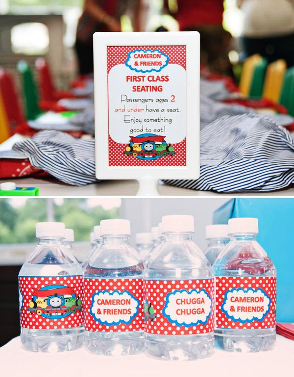 Polka Dot Train Printables