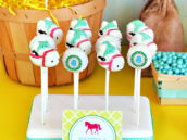 Vanilla Pony Inspired Cake Pops