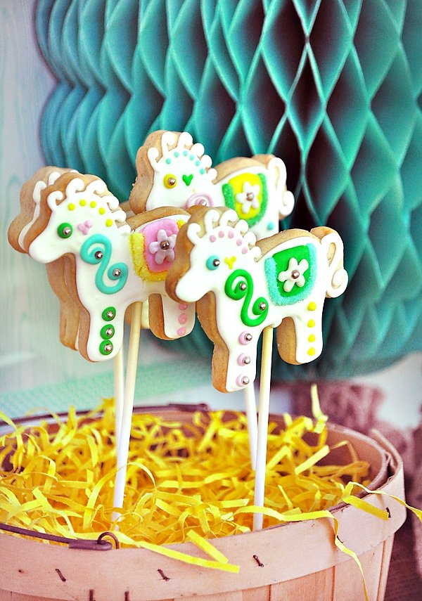 Pony Cookies Pops
