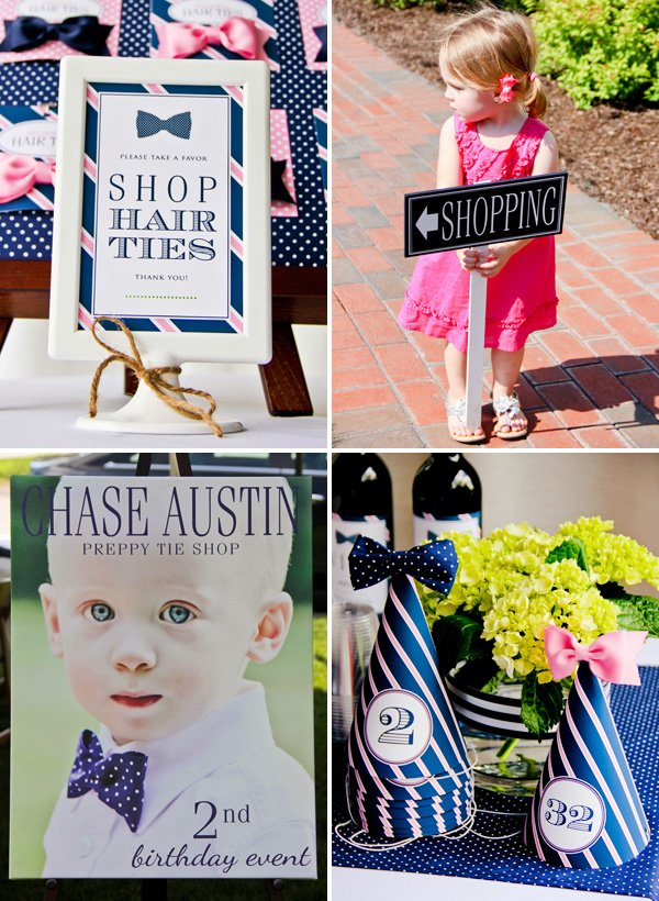 preppy party ideas