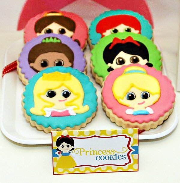 disney princess cookies
